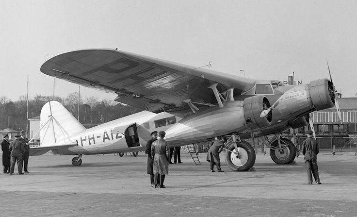 Fokker F.XX at Berlin Tempelhof (1934)