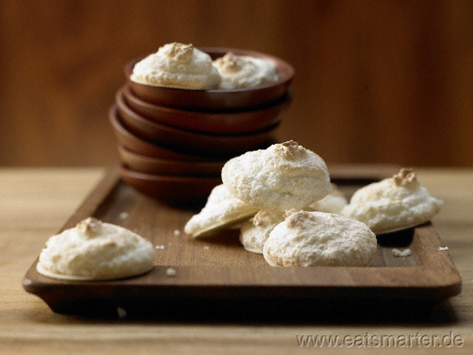 Kokosmakronen mit feinem Limettenaroma - smarter - Kalorien: 105 Kcal | Zeit: 410 min.