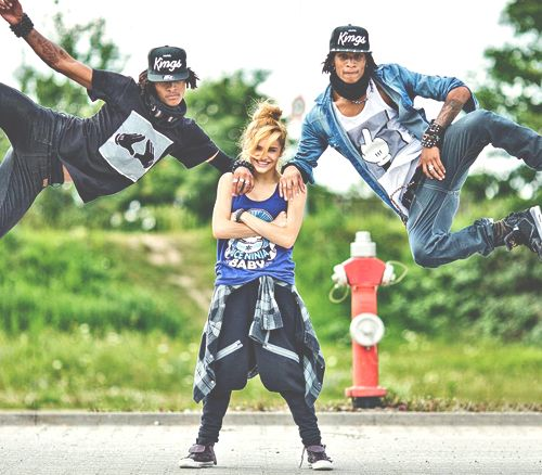 Les Twins and Chachi Gonzales. Three of my FAVE dancers ever!!!