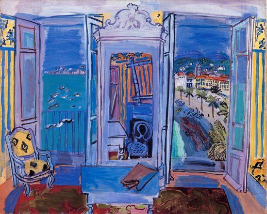 ラウル・デュフィ「ニースの窓辺」 アートについて話そう! アート&レビュー NIKKEI STYLE