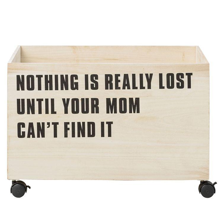 Nothing Is Storage Box $115. - RoyalDesign.com