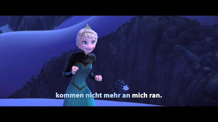 Let It Go - Sing Along - Song: DIE EISKÖNIGIN - VÖLLIG UNVERFROREN - Music: Frozen - Disney