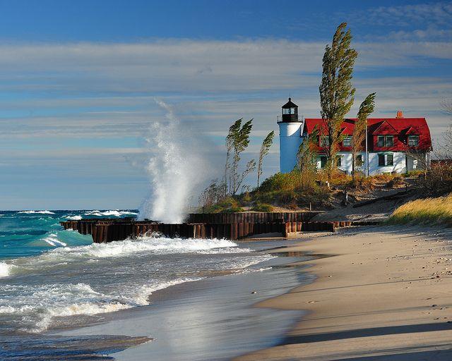 Point Betsie Lighthouse - Crystallia, Michigan