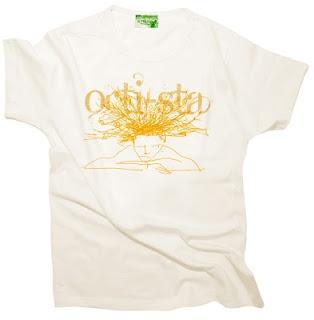 la t-shirt carotesca dell'orti-sta
