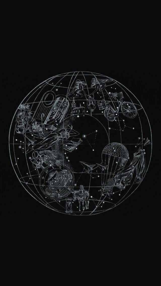 Pin By Mina Djurasovic On Interesting Vsco Art Wallpaper Space Art Black Aesthetic Wallpaper