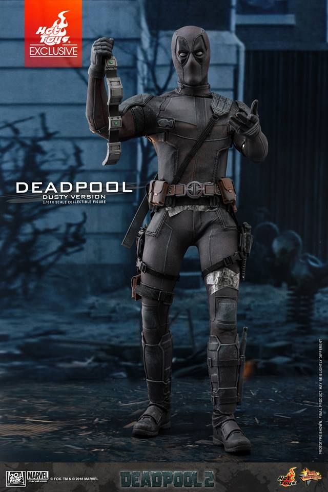 Deadpool 2 Deadpool Dusty Version 1//6th Scale Hot Toys Action Figure