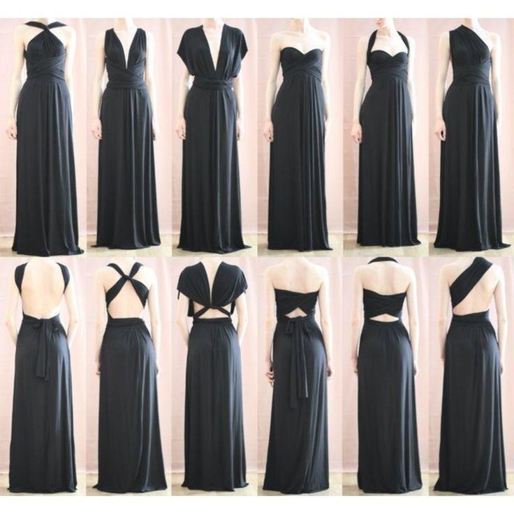 Платье трансформер фото длинное