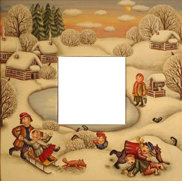 Gallery.ru / Зима - Зеркала - julia-yakusheva