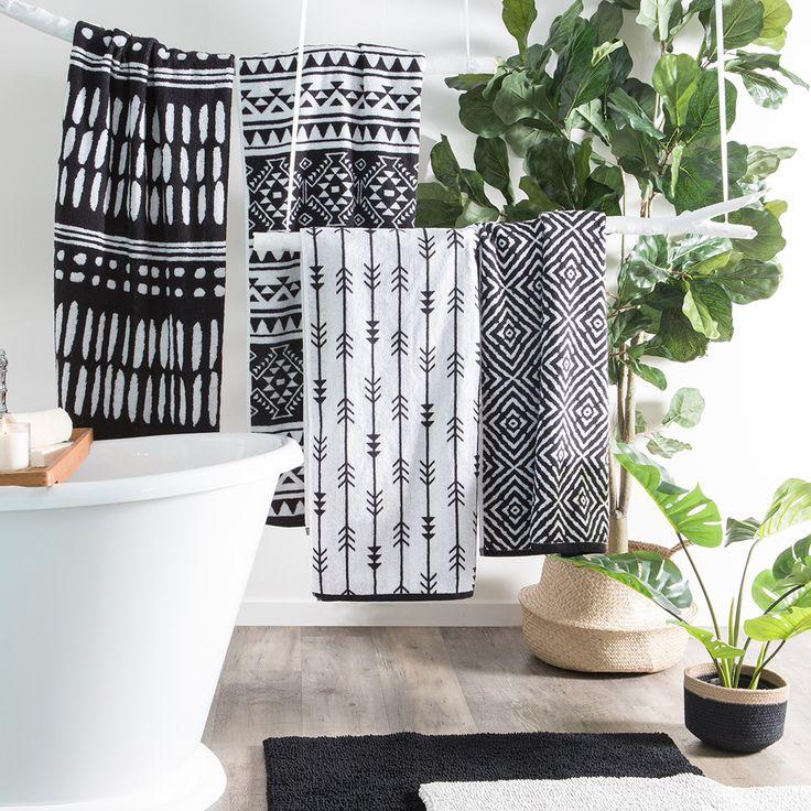 Tribal Bath Towels | Pillow Talk - main bathroom