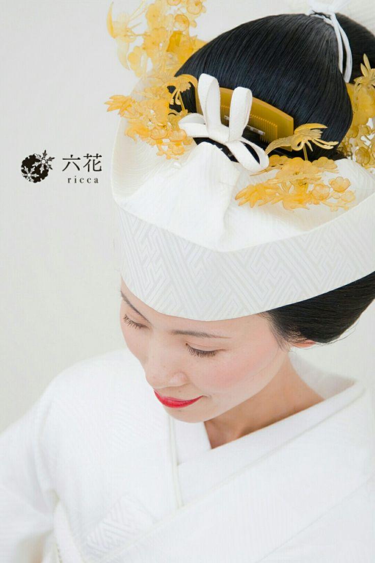 婚礼・フォトウエディング 白無垢 日本髪地毛結い