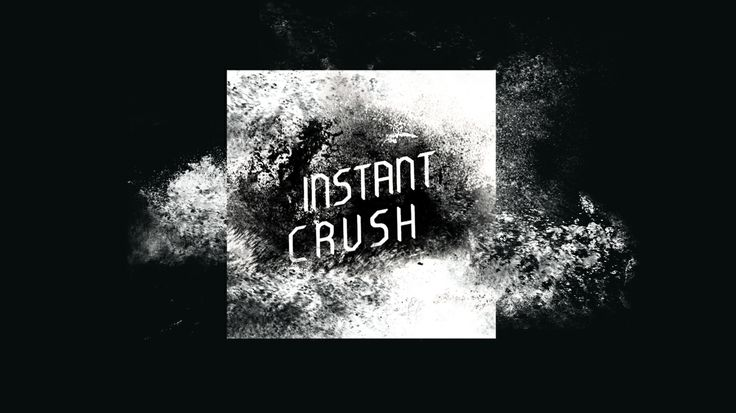 """Instant Crush"" _ju Cover artwork for our cover of the song ""Instant Crush"" on Youtube"