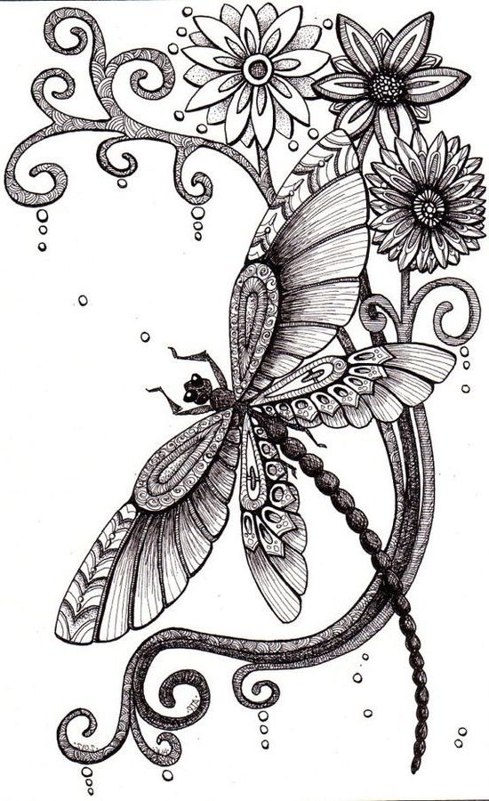 Dragonfly Tattoo Line Drawing : Best dragonfly tattoo ideas on pinterest