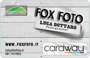 Fox Foto di Luca Bottaro, attività convenzionata CardWay.  www.foxfoto.it