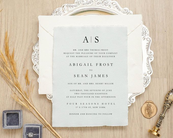 130 best Wedding Invitations A mix of Traditional Unique