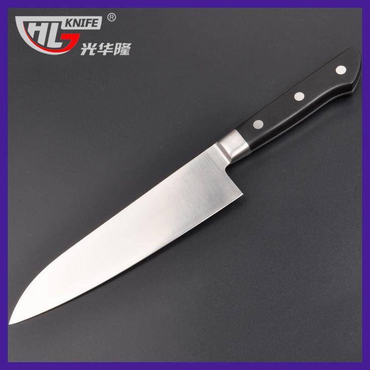 2017 fashion 7inch santoku Knives for kitchen high carbon steel faca chef cuchillos de cocina