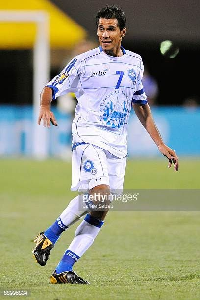 Ramon Sanchez of El Salvador controls the ball against Canada during a CONCACAF Gold Cup match at Crew Stadium on July 7 2009 in Columbus Ohio