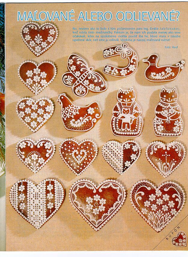 Gingerbread patterns