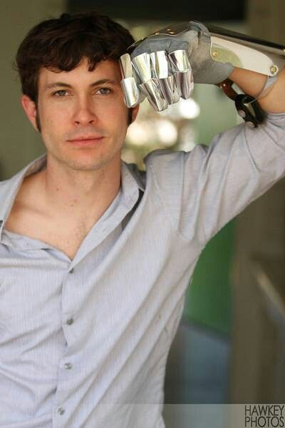 Toby Turner. Is he wearing a gauntlet? He's wearing a freaking gauntlet. I love when the world spawns pretty nerds.