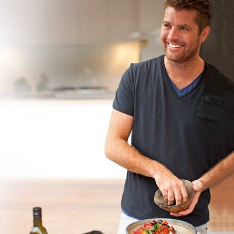 Pete Evans - Host of Channel 7 TV series 'My Kitchen Rules'. Recipes Books Inspiration - Eatlove
