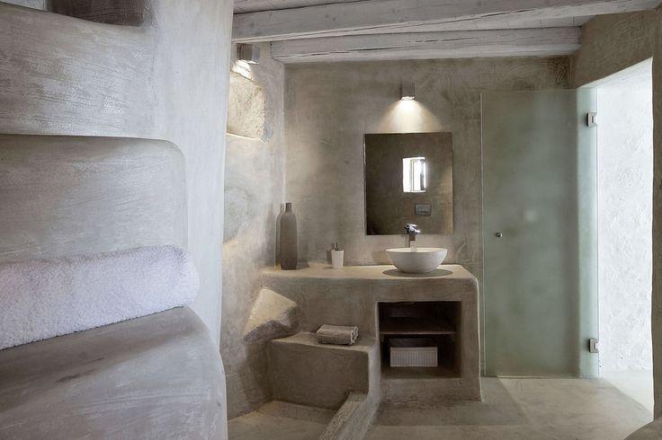 Melanopetra, Νίσυρος, Εσωτερικοί χώροι ξενοδοχείου