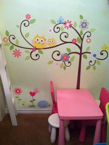 Babys Nursery and Childrens Bedroom - One Mural, Many Walls contemporary kids decor