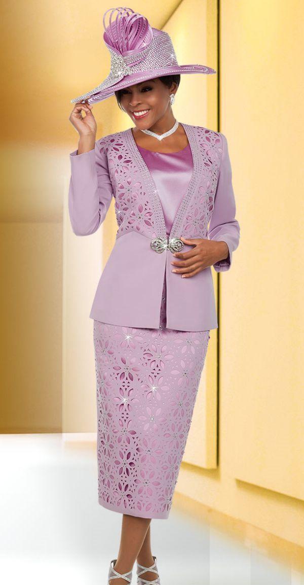 ffd7bfad3cd Ben Marc Suit 48118-Orchid - Church Suits For Less