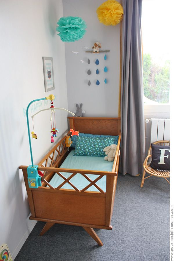 Mobile cygnes Flensted, Ange lapin Trousselier, tissu Petit Pan