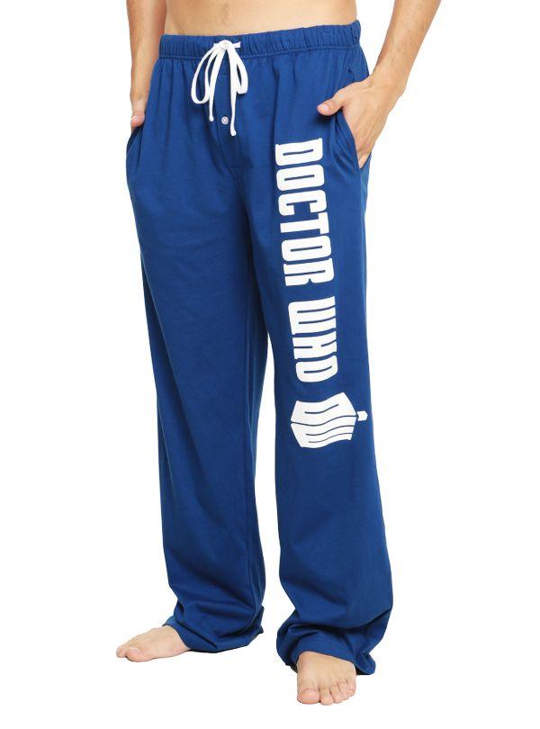 doctor who pajamas logo