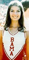 ❤️ Sela Ward. Cheerleader and Homecoming Queen during the Bear era. If you've seen her act...she always slips in a Bama reference!