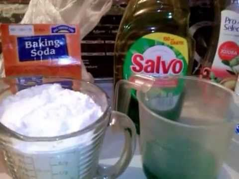 Pasta abrasiva para lavar baños y azulejos - YouTube