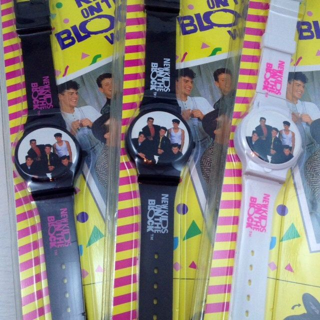 """New Old Stock """"New Kids on the Block"""" Vintage Watch ca.1990 by VintageWatchShop on Etsy https://www.etsy.com/listing/164893615/new-old-stock-new-kids-on-the-block"""