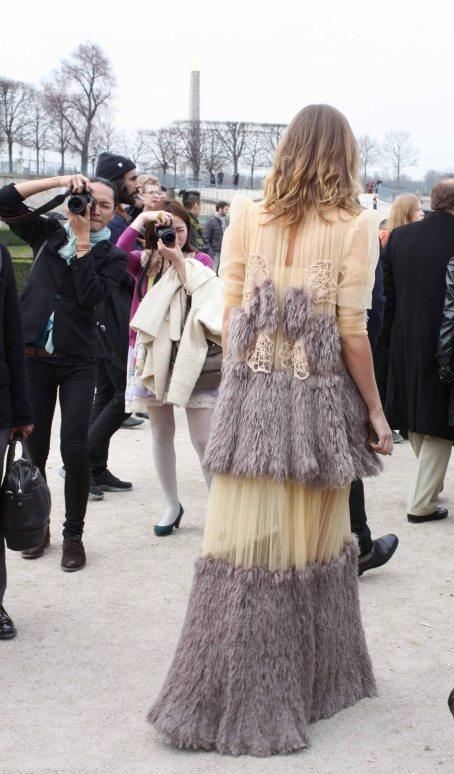 tiers and ruffles at Paris Fashion Week