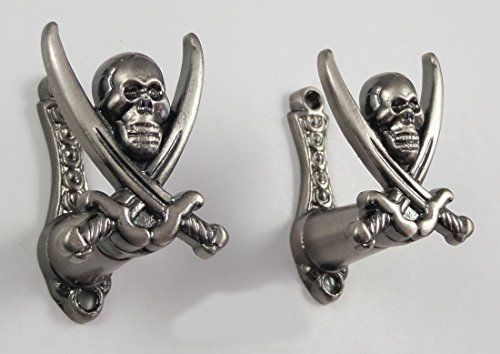 2 Pc Pirate Sword Hanger Jolly Roger Hook Cutlass Gun Pistol Wall Mount Display  //Price: $ & FREE Shipping //     #sports #sport #active #fit #football #soccer #basketball #ball #gametime   #fun #game #games #crowd #fans #play #playing #player #field #green #grass #score   #goal #action #kick #throw #pass #win #winning