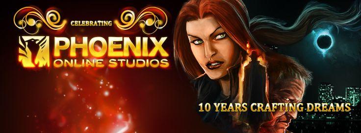 Phoenix Online Studios 10th Anniversary - Cognition Facebook Cover