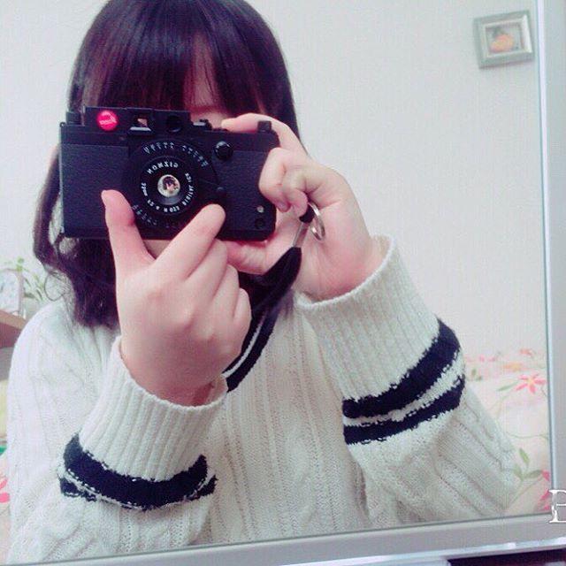 iPhoneでなんちゃってカメラ完成♪ はやく本物のカメラ持ちたいな #ファインダー越シ私ノ世界  #写真好キト繋ガリタイ  #gizmon