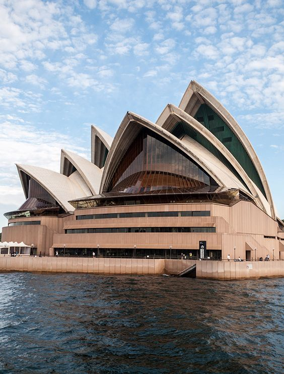 The Iconic Sydney Opera House in Australia.