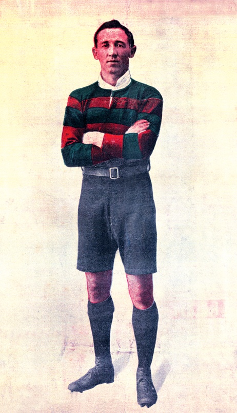 Harold Horder. 102 tries for the Rabbitohs in 86 games from 1912-1919 and 1924.