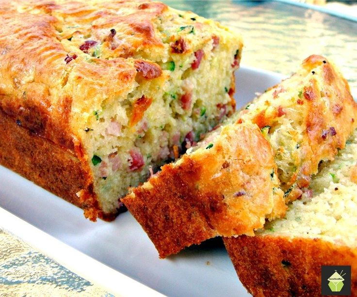 Bacon and Cheddar Zucchini Bread; sounds interesting. Will need to change flour to make gluten free.