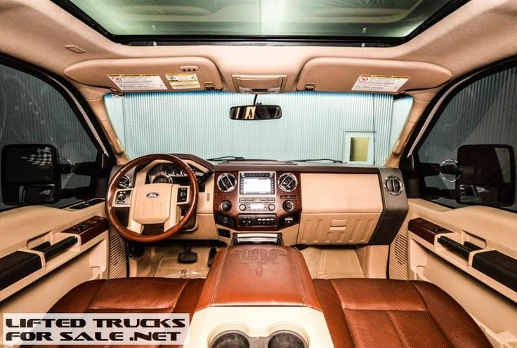 2012 Ford F350 King Ranch Diesel Lifted Truck