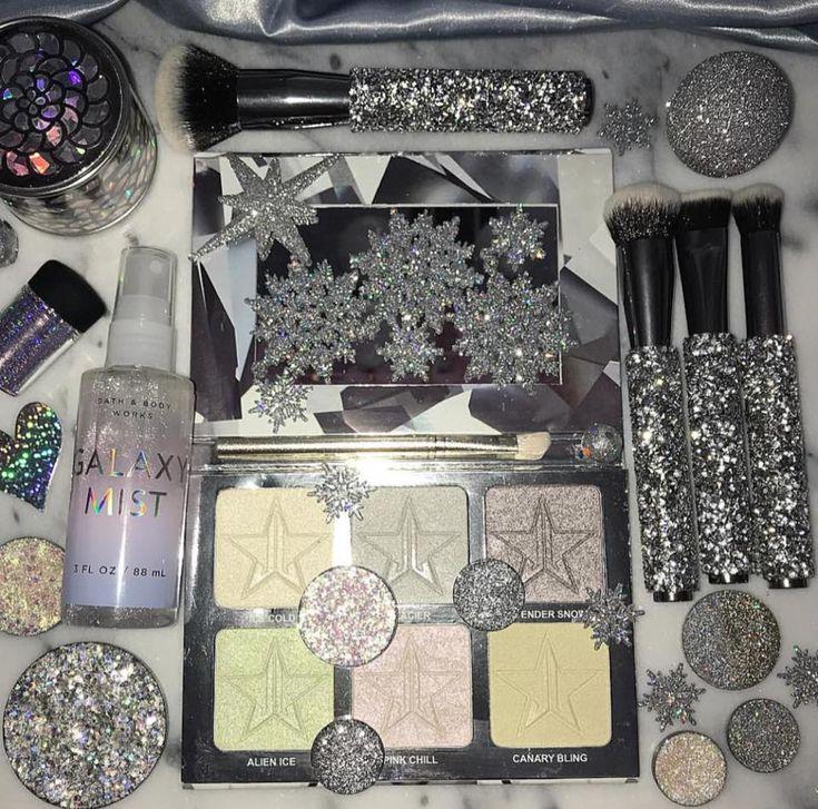 Jeffree Star Platinum Ice Skin makeup, Jeffree star