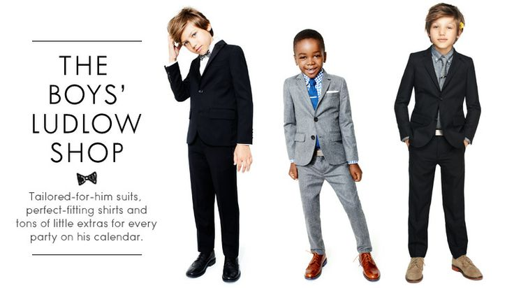 Boys' Formal Clothes - Boys' Suit Jackets, Dress Shirts & Pants, Boys' Ties, Bow Ties & Dress Shoes - J.Crew