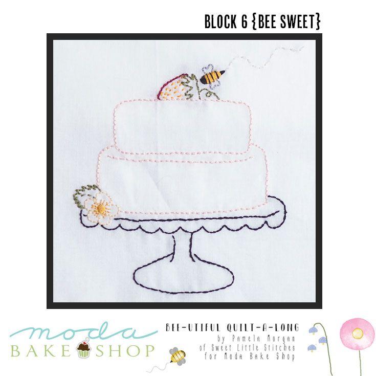 Bee-utiful QAL {Block 6 – Bee Sweet} and {FAQs} | Moda Bake Shop | Bloglovin'