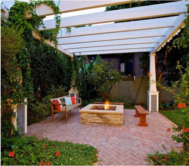 1000 Ideas About Fire Pit Gazebo On Pinterest Backyards