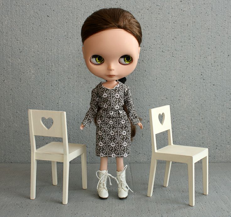1/6 chairs for #playscale #dolls like #blythedoll by #minimagine
