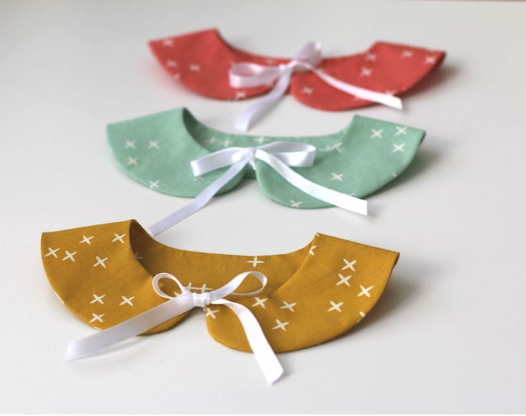 FabricWorm: Detached Peter Pan Collar Sewing Tutorial
