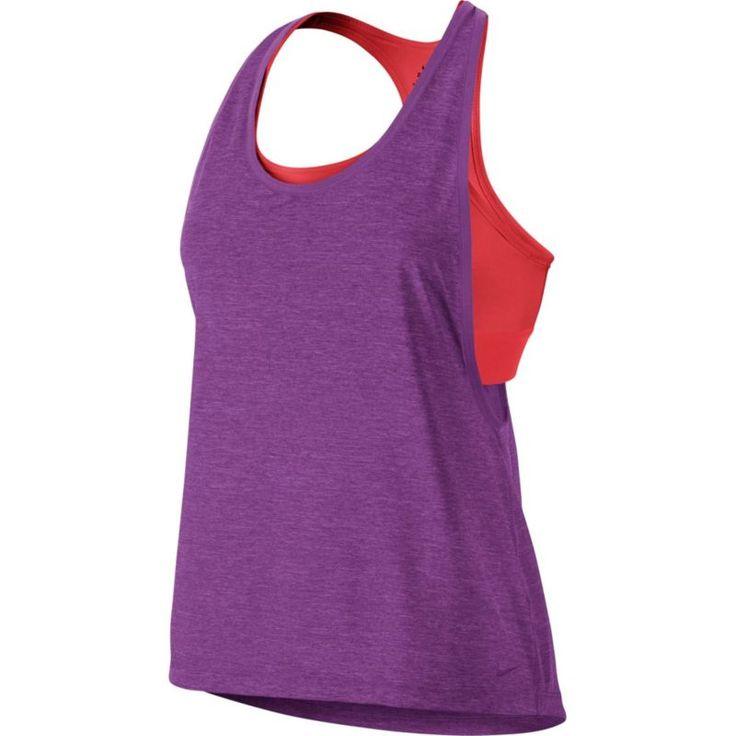 Nike Women's 2-in-1 Pro Inside Loose Tank Top
