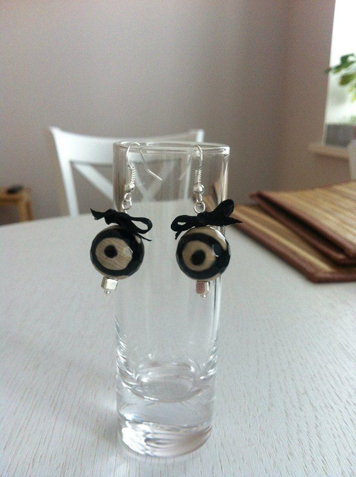 Серьги ручной работы из натуральных камней. Handmade earrings.