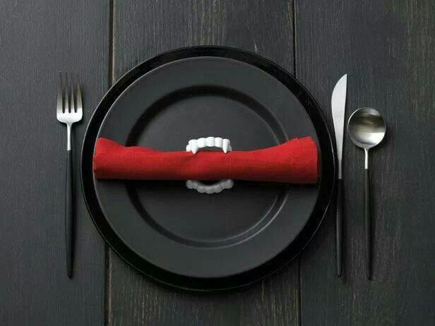 True Blood Party Place setting