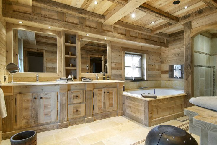 Chalet Pearl Courchevel master bathroom