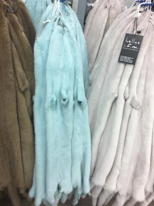 Tiffany blue  Mink pelts/skins in diffirent colors by skffurs